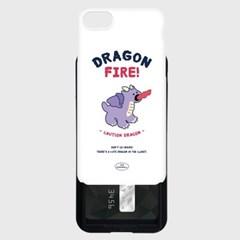 purple line baby dragon [카드슬라이드 폰케이스]_(1027167)