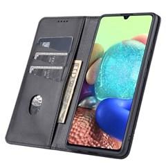 아이폰7 도트 라인 레더 커버 가죽 케이스 P591_(3840063)