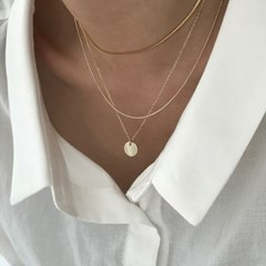 [Silver925] Daily coin necklace_(1538188)