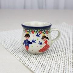폴란드그릇 아티스티나 에소잔 커피잔 유니캇 u4996