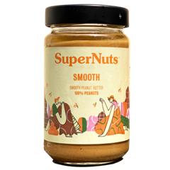 슈퍼너츠 땅콩 100% 피넛 버터 300g 스무스 잼 쨈 스프레