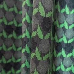 팝빈티지 LIKE A PANSY (night-green) 행잉프린트 커튼_(1253663)