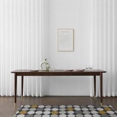 [헤리티지월넛] ACR형 식탁/테이블 1500_(1725757)
