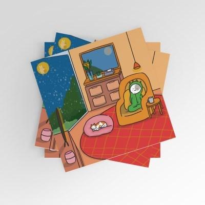 [post card] 노곤노곤