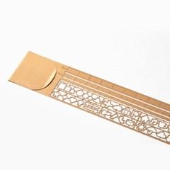 Clip Ruler - Copper