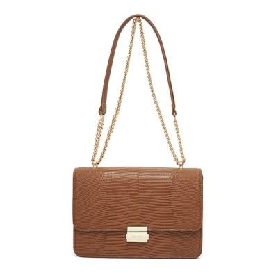 Building bag (Lizard brown) - S002LBR