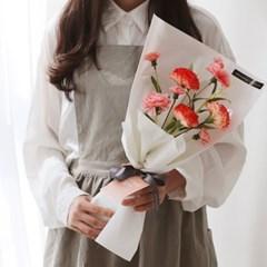 9송이 카네이션 꽃다발