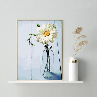 유리병속 데이지 DIY명화그리기 유화그리기세트_(2560257)