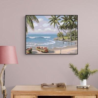 평화로운 해변 DIY명화그리기 유화그리기세트_(2560239)