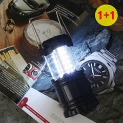 30구 LED 풀업 슬라이드 캠핑랜턴 1+1