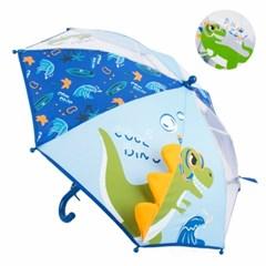 공룡 다이몬쥬 쿨 우산 40cm [세폭/수동] 어린이 아동