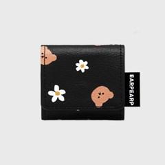 Dot flower merry-black(에어팟프로 레더)_(1903885)