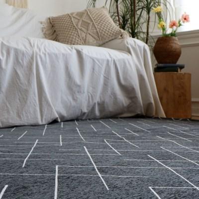 셔닐라인 패턴 러그 카페트 150x200