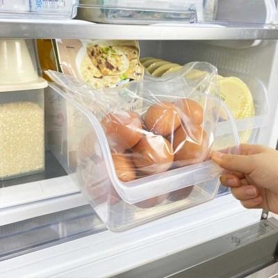 오픈형 냉장고 냉동실정리용기 트레이