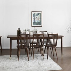 [헤리티지월넛] ACR형 식탁/테이블 세트 2100_(1727098)