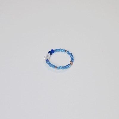 sea_color_ring 블루 비즈반지