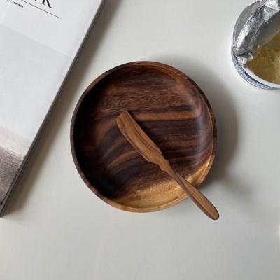 티크우드 잼나이프 버터나이프