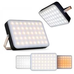 [1+1]캠핑 차박 LED조명 랜턴(40개LED/4단밝기/15000mA대용량배터리)