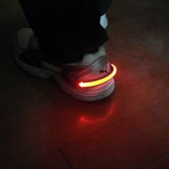 운동화 신발 LED 라이트 안전등 보안등 야간등