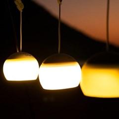 호롱불 캠핑 LED 랜턴 USB케이블 포함