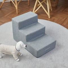 [모던하우스] 펫본 안전한 관절보호 강아지 계단 3단 그레