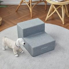 [모던하우스] 펫본 안전한 관절보호 강아지 계단 2단 그레