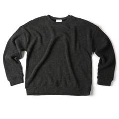 남자 데일리 골지 핏좋은 색감 톤다운 남친룩 맨투맨