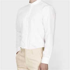 남자 데이트룩 차이나카라 고급스런 깔끔 무지 기본 셔츠