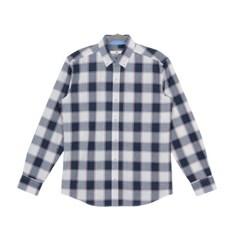 남자 데일리 타탄체크 포인트 캔퍼스룩 나들이 셔츠
