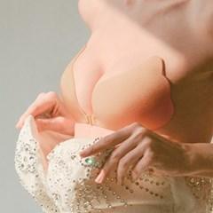 웨딩 촬영 브라 누브라 속옷 4size [드레스 뽕 붙이는 누드브라]