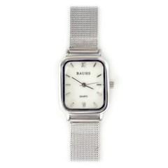 20대 여자 자개 디자인 메쉬 여성 시계 하버 실버_(512873)