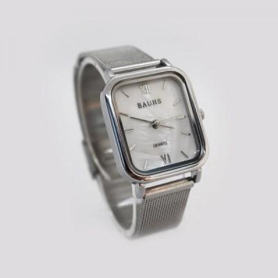30대 여성 패션 자개 시계 바우스 하버 시계 실버_(512885)
