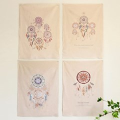 [Fabric] 드림캐쳐 컷 디자인 린넨