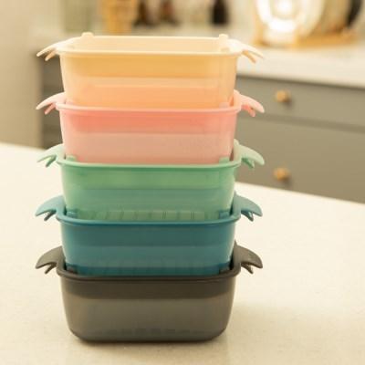 채널앤쿡 냉동밥용기 밀폐반찬 찜기 접시 렌지용기