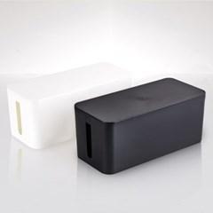 [생활쉼표] 멀티탭 콘센트 전선정리함 2colors 기본형 32c_(1410376)