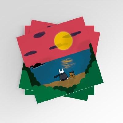 [post card] 감성충전
