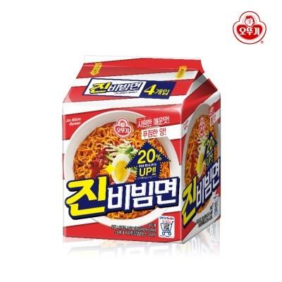 오뚜기 진비빔면 156g 4개입 / 라면