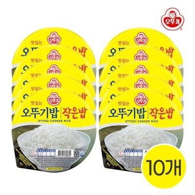 오뚜기 맛있는 작은밥 150g 10개입 즉석밥
