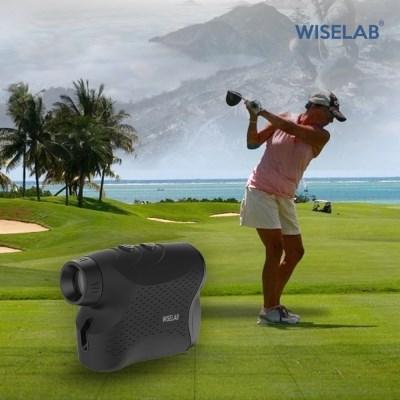 와이즈랩 고급 골프거리측정기 레이저 등산/골프/낚시