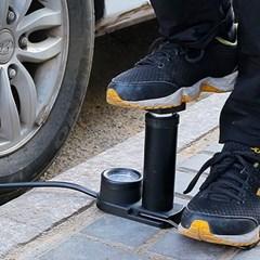 액티브 공기압 자전거발펌프(블랙)/ 자전거펌프