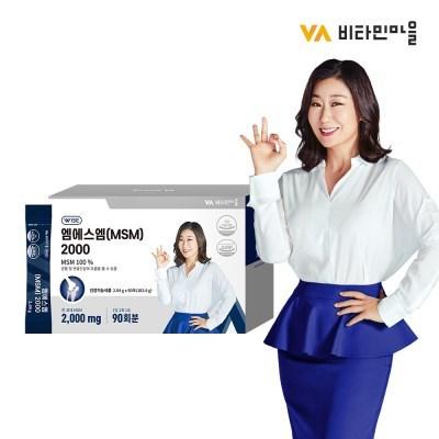 비타민마을 와이즈 엠에스엠 (MSM) 2000 90포 1박스