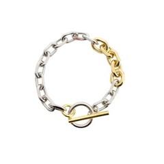 Combination Bold Chain Bracelet