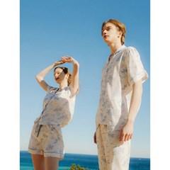 남성반팔잠옷 홈웨어 타히티 반소매 페어 3159(남성)