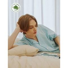 남성반팔잠옷 홈웨어 잉그리드 반소매 페어 3132(남성)