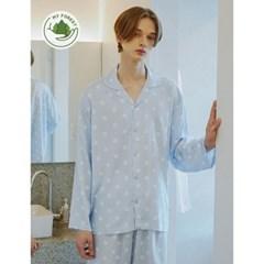 남성반팔잠옷 홈웨어 제리 긴소매 페어 3101(남성)