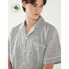 남성반팔잠옷 홈웨어 시그널 반소매 페어 3146 (남성)