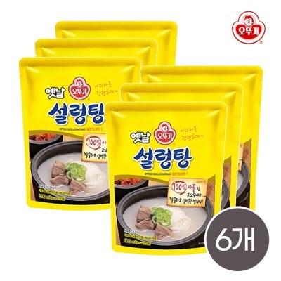 오뚜기 옛날 설렁탕 300g 6개입 / 간편식