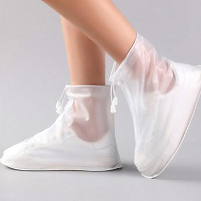 오린 장마철 레인 비닐장화 실리콘 신발방수 슈즈커버_(2561651)