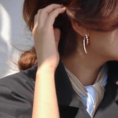 투웨이 앞뒤 큐빅 분리형 드롭 패션 귀걸이 추천