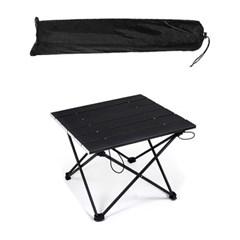 스몰 블랙 경량 롤 테이블